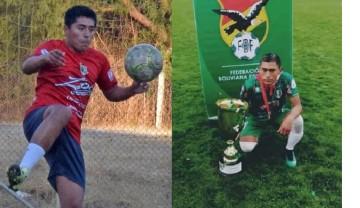 Mamani y Guevara, de Culpina, hacen historia en el fútbol tarijeño