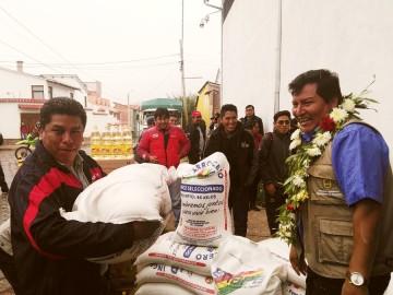 Más de 500 familias damnificadas de Culpina recibirán alimentos