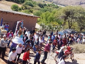 Masiva presencia de gente en la festividad de San Juan del Oro