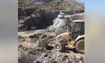 Mejoramiento del camino Villa Charcas-Culpina estará concluido el martes