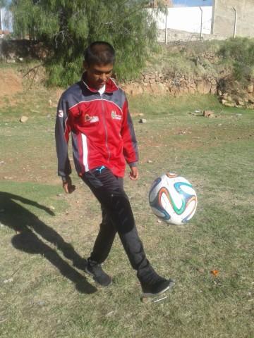 Milton José Caracoles integra la selección sub-16 de Chuquisaca