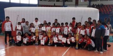 Niñas y niños de los Cintis son de oro en los Pluris de primaria