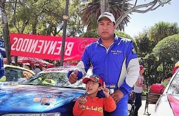 Doce pilotos de los Cintis participan en la Doble Sama de Tarija