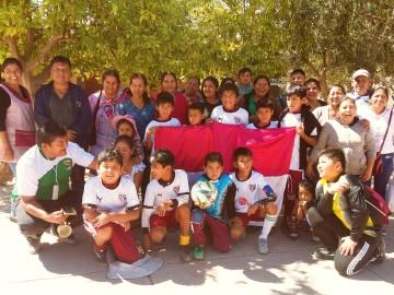 Patapampa da la sorpresa se corona campeón en fútbol de salón y fútbol