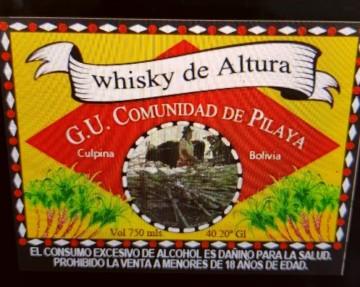 Pilaya presenta su inédita producción de whisky, ron y vodka de altura