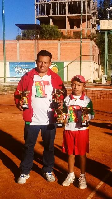 Premian a Incahuasi Tenis Club por el segundo lugar en Chuquisaca
