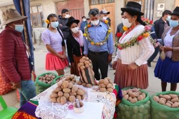 Productores incahuaseños ganan siete de ocho variedades en concurso