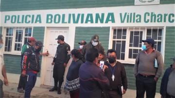 Restituyen servicio policial en Villa Charcas después de casi un mes
