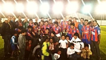 San Lorenzo de Malcastaca es campeón de Fútbol de Camargo