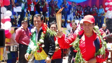 Se desató la Fiesta del Deporte y la Cultura en Villa Charcas