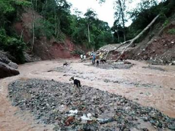 Sedcam: Rehabilitación del camino hacia El Palmar estará hasta fin de mes