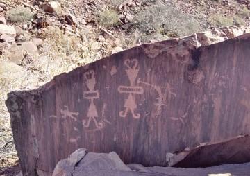 Señalan al Valle de los Petroglifos emblema del turismo de Las Carreras