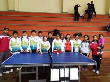 Tenis de Mesa: Camargo es subcampeón nacional U-15 por equipos