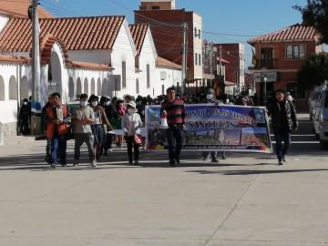 Tras marcha de vecinos, Alcaldía compromete recursos para estudio