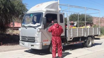 Tres puntos de control vigilan entrada y salida de motorizados en Camargo