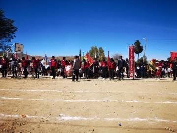 Unidad Educativa Cinteño Tambo - Pututaca celebró 83 años
