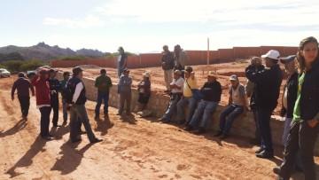 Villa Abecia: La explotación de cobre queda paralizada temporalmente