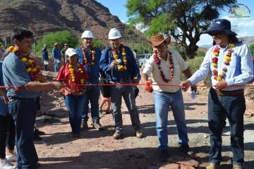 Villa Abecia mejora sistema de agua potable con Bs 1,6 millones