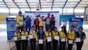 Villa Abecia se corona campeón en fútbol de salón femenino