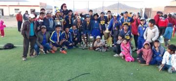 Villa Charcas: Boca Juniors es campeón por segundo año consecutivo