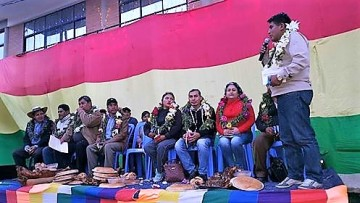 Villa Charcas celebra presentación del primer Director Distrital de Educación