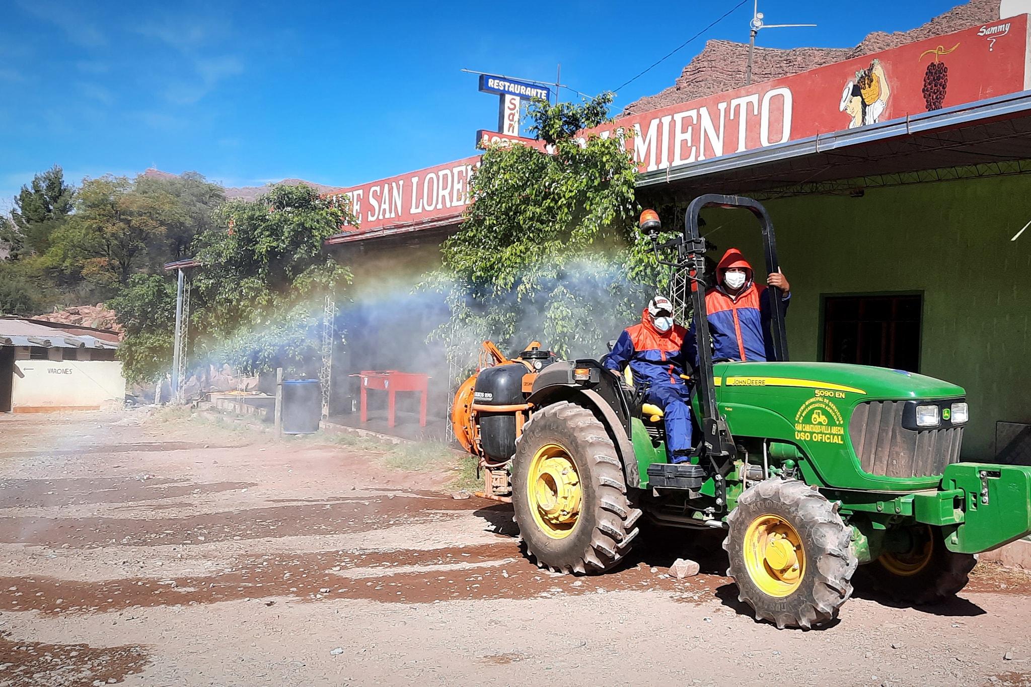Alcaldía de Villa Abecia recuerda prohibición de realizar fiestas tradicionales