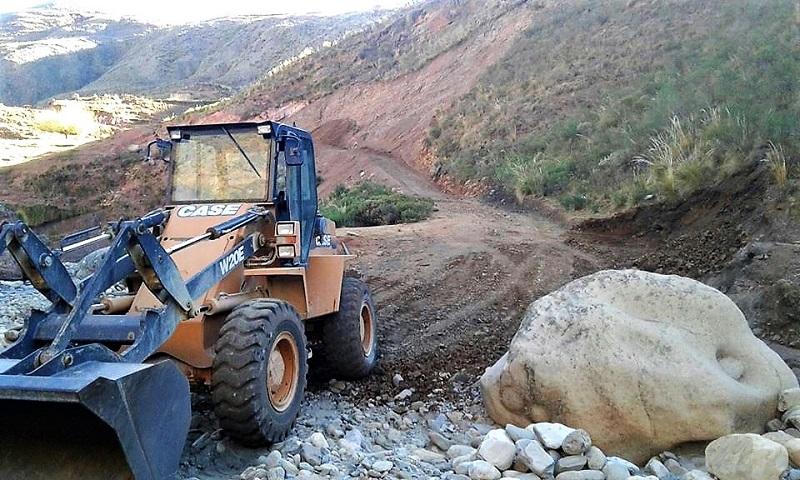 Alcaldía de Culpina mejora más de 100 kilómetros de caminos vecinales