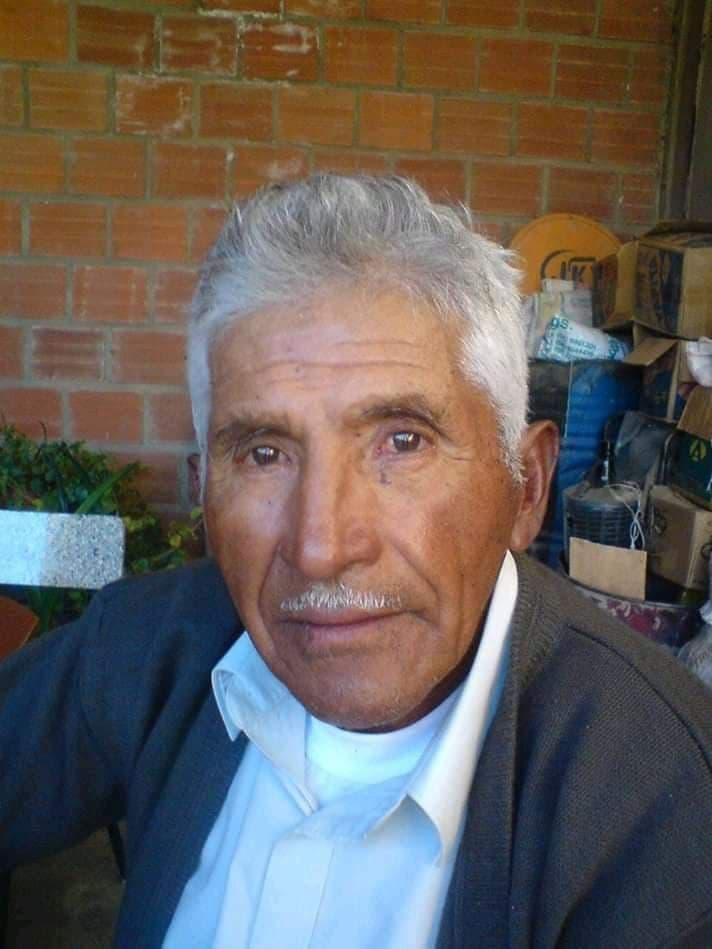 Alfonso Vásquez, apasionado del fútbol, la música y la agricultura