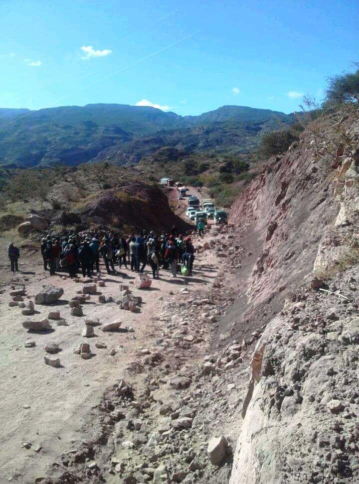 Analizan decretar cuarto intermedio en bloqueo en la región de los Cintis