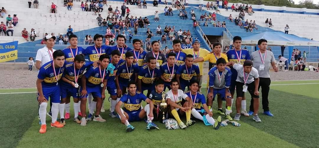 Boca Juniors de Villa Charcas es subcampeón del interprovincial