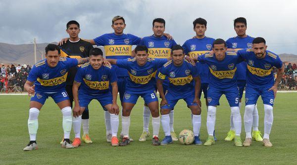 Boca y Litoral empatan en el partido de ida en Villa Charcas