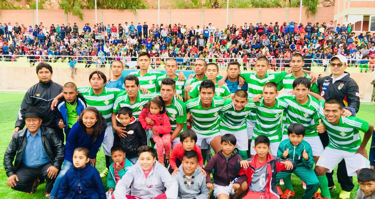 Camargo gana a Villa Charcas y es campeón de los Cintis en fútbol