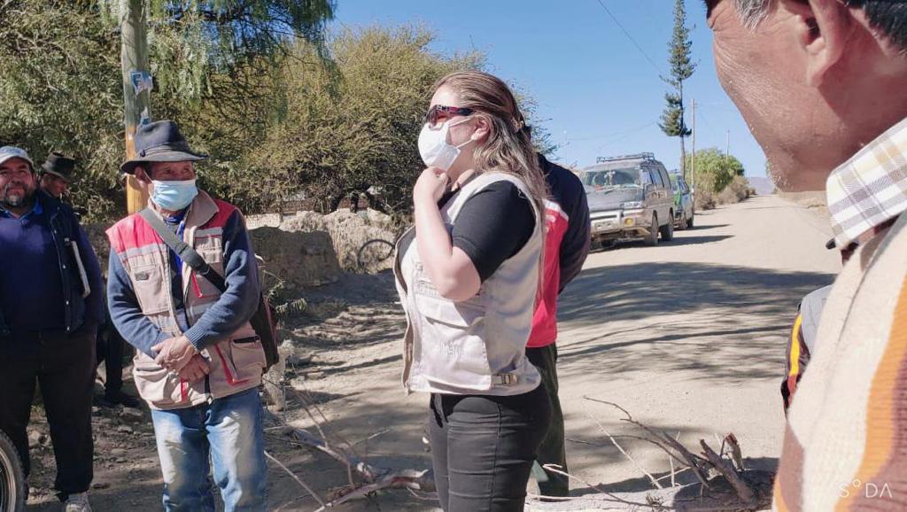 Campesinos de San Lucas piden al Órgano Electoral que convoque al diálogo