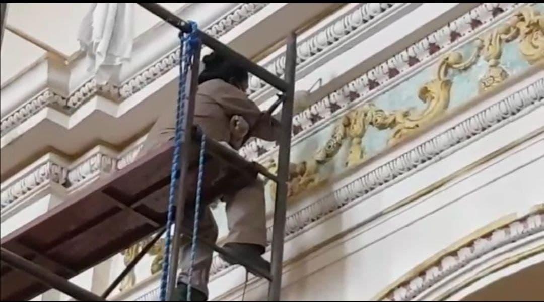 Conformarán comité para impulsar la restauración del Templo Santiago Apóstol