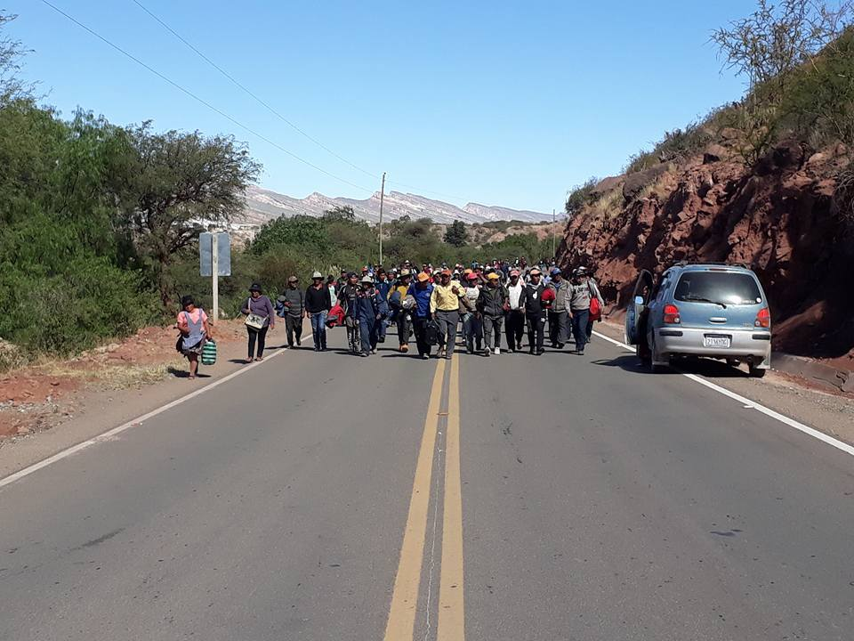 Cuarto intermedio: Levantan bloqueos en la región de los Cintis