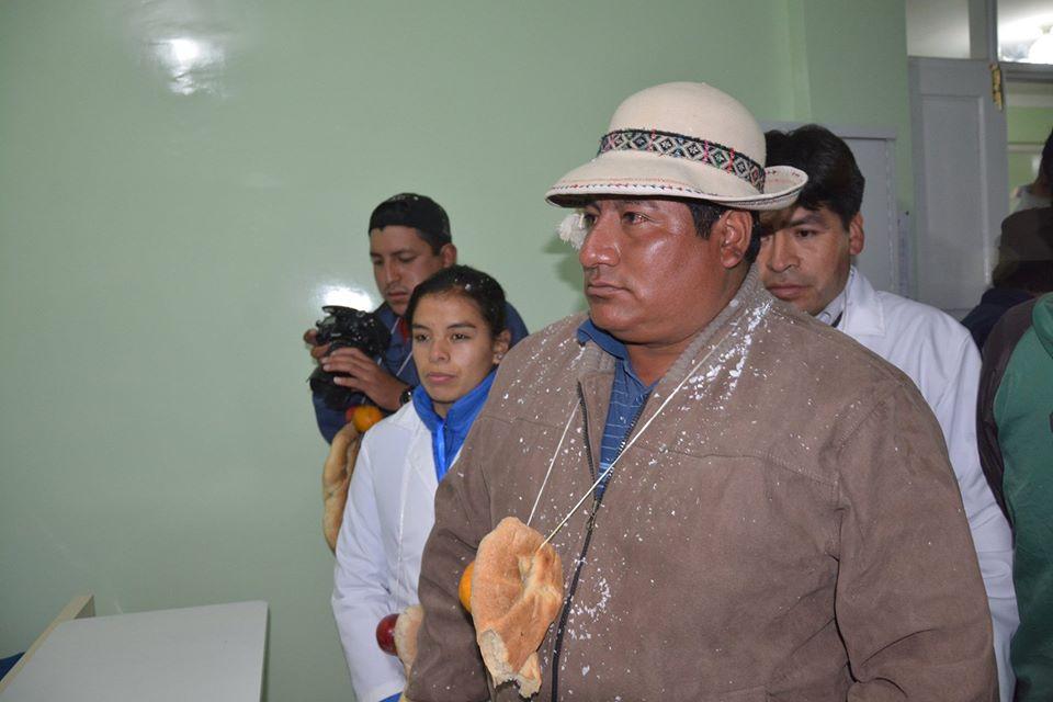 El alcalde de San Lucas, Zenón Aiza, renuncia a su cargo