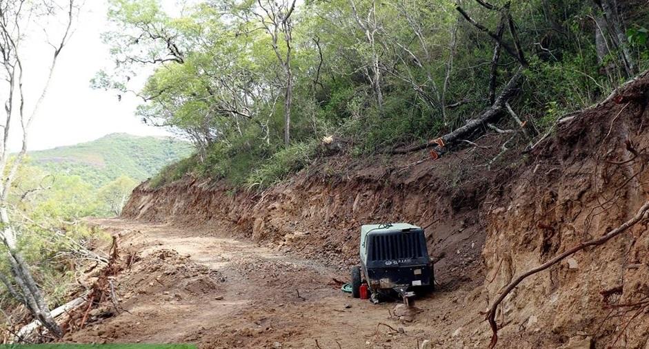 El camino hacia San Andrés y Lagunillas se abrirá por la serranía