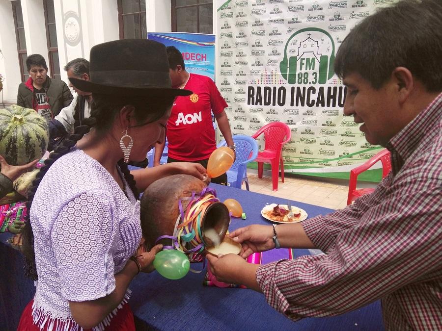 El Carnaval en Incahuasi se disfruta a lo grande en Tentación