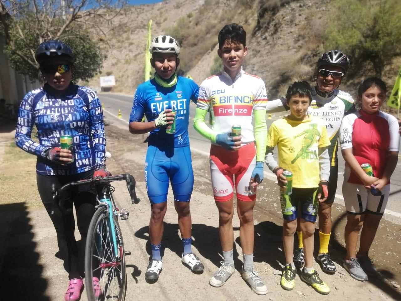 El ciclista culpineño Chelito Moncada apunta a clasificar a un nacional