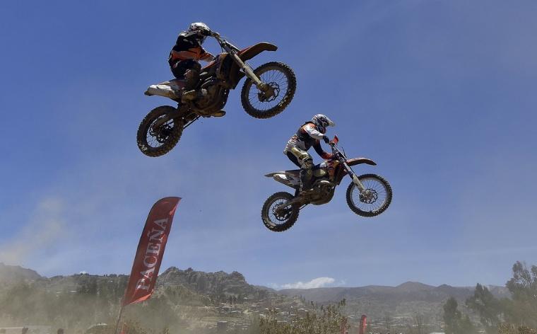 El circuito de motocross de La Carreras premiará con una moto