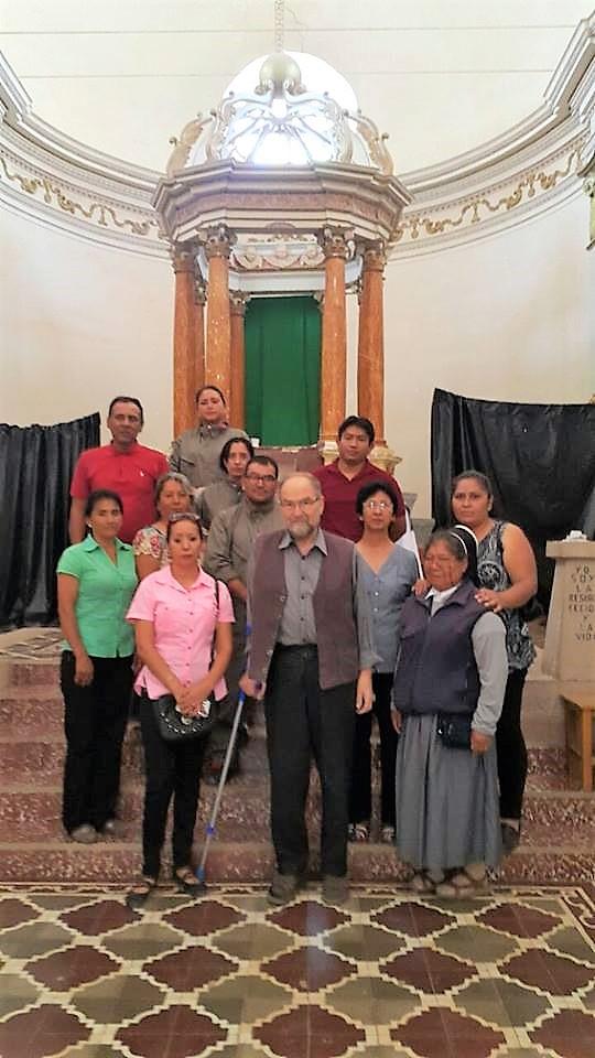 En marcha la restauración del templo Santiago Apóstol de Camargo
