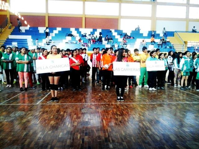 Este sábado arranca el torneo de futsal de residentes cinteños en Sucre