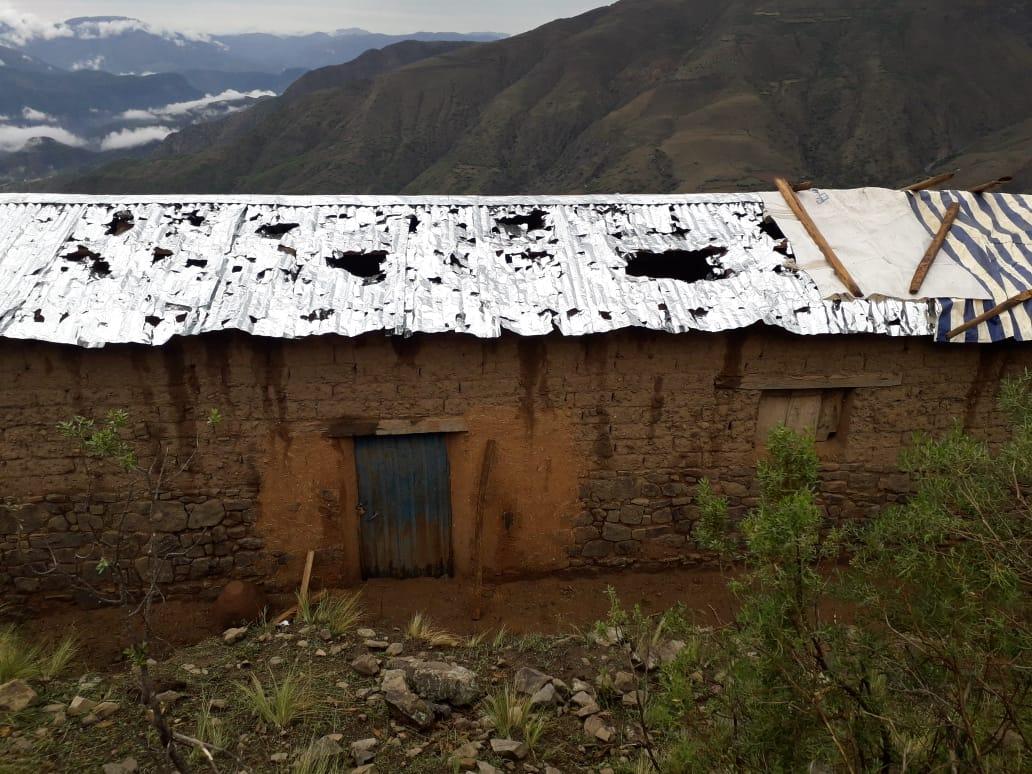 Fuerte granizada causa daños de magnitud en comunidades de San Lucas