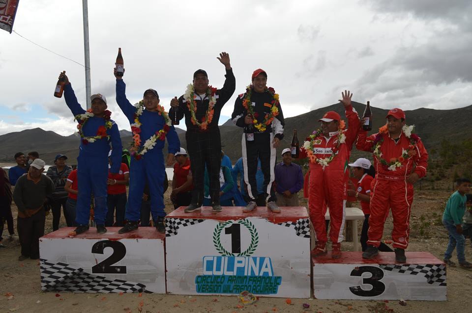 Gonzáles, Vedia, Martínez y Pérez gana en el circuito de El Tranque
