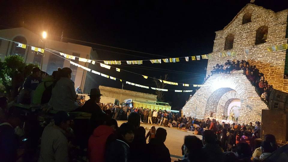 Incahuaseños se preparan con novena para la festividad de Rosario