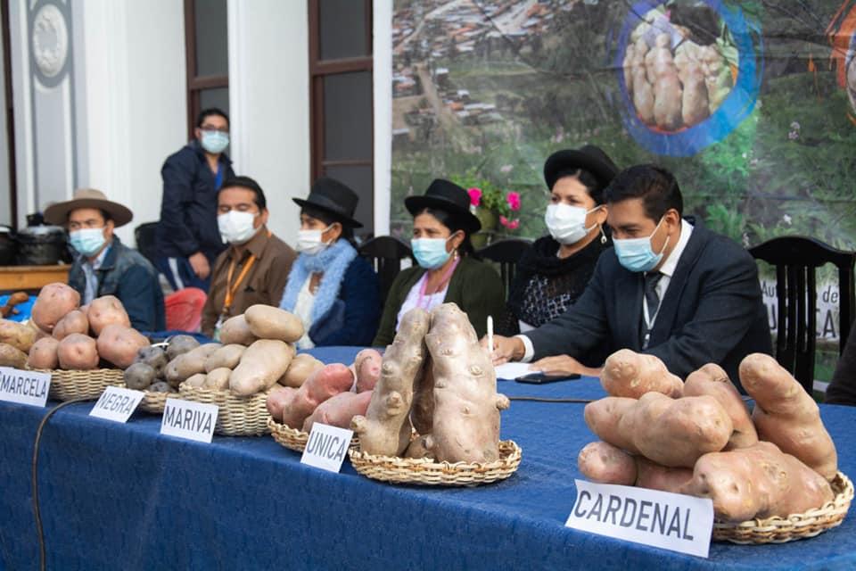 Incahuasi lanza la 2° Feria Departamental de la Papa