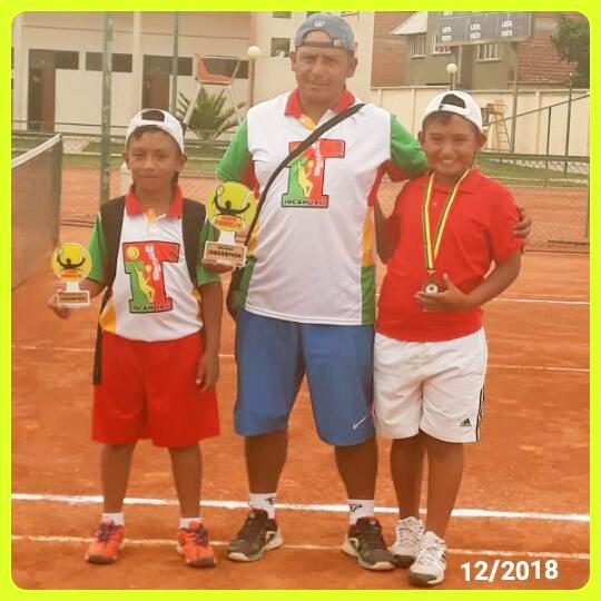 Incahuasi Tenis Club hace podio en competencia nacional de Sucre