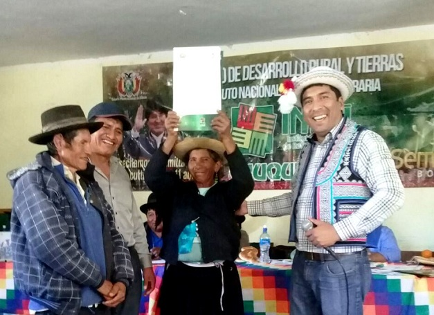 INRA entrega 1.266 títulos agrarios en San Lucas