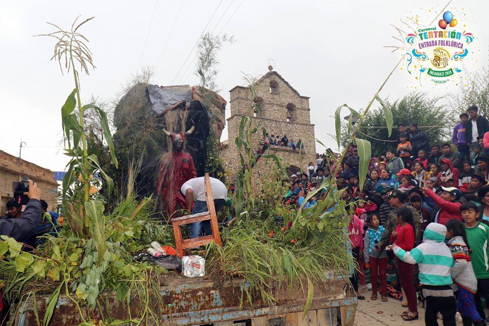 La Entrada de Tentación de Incahuasi se apresta a recibir a miles de visitantes