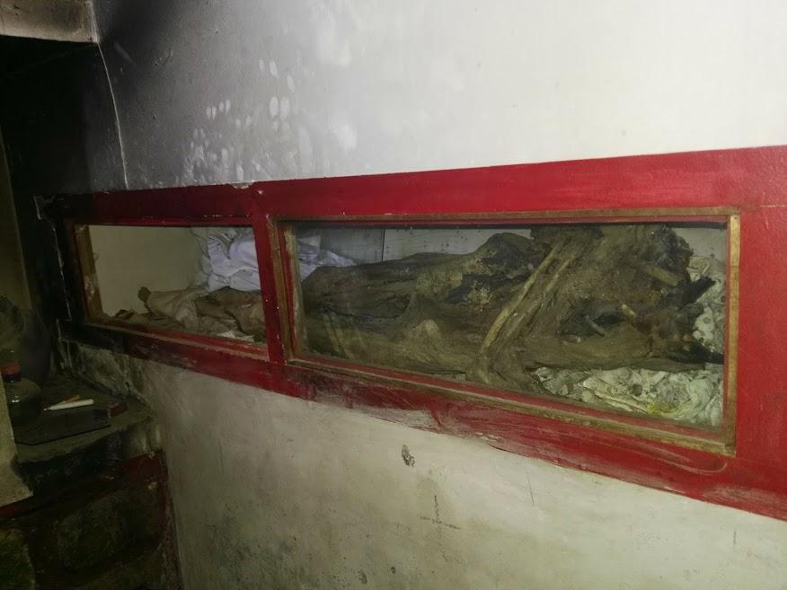Lorenza Durán, momificada, es considerada milagrosa en La Cueva